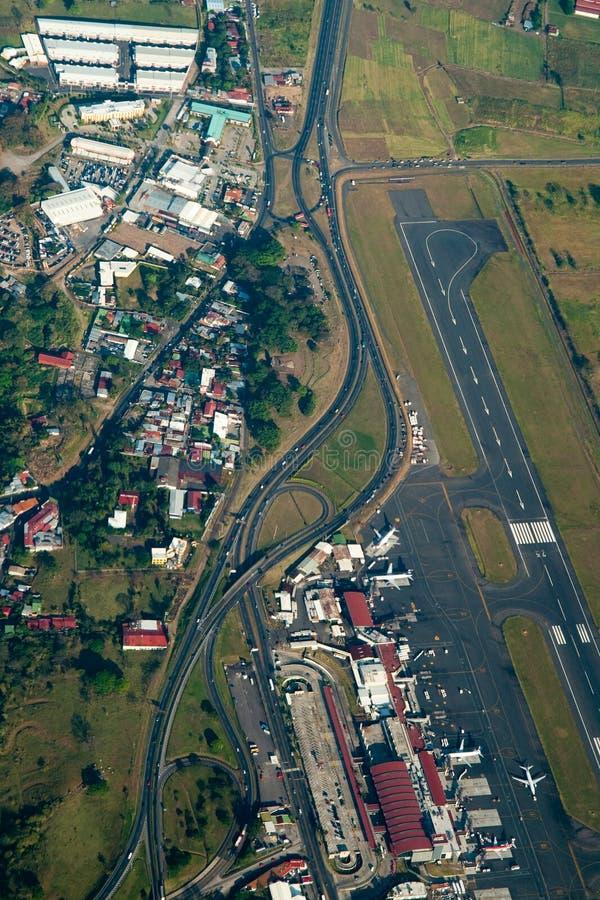 Vista aérea de San Jose, Costa Rica fotos de stock royalty free