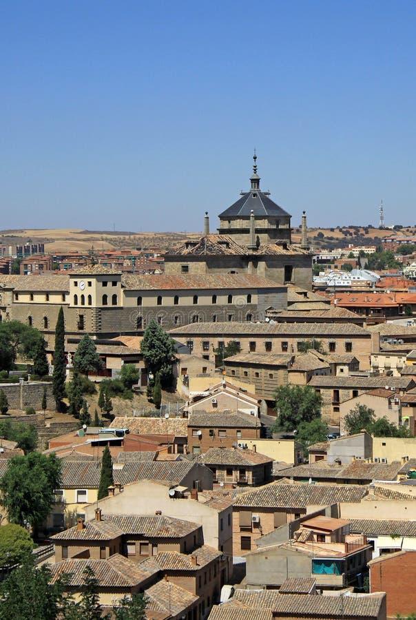 Vista aérea de Toledo Toledo, España foto de archivo libre de regalías
