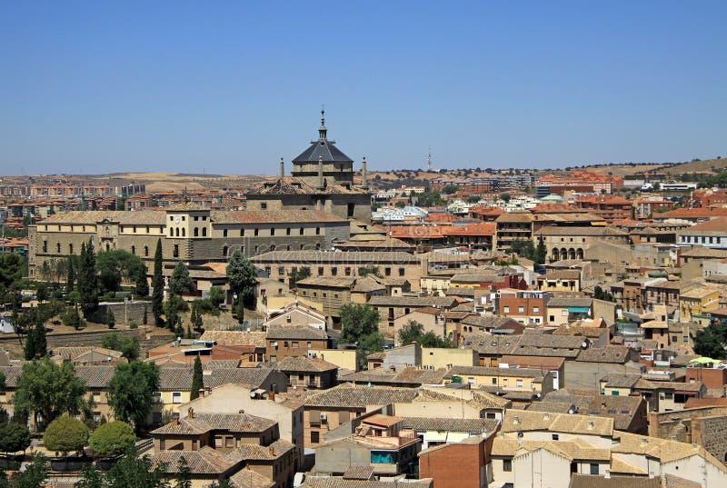 Vista aérea de Toledo Toledo, España imagen de archivo