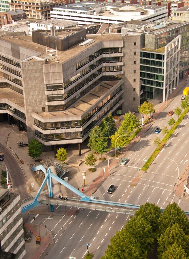 Download Vista aérea de uma rua imagem de stock. Imagem de spain - 29835855