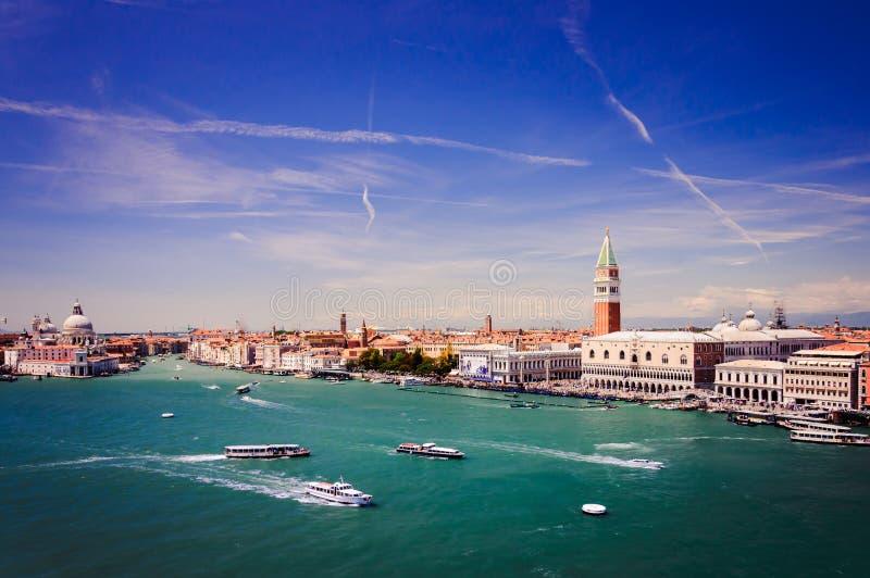 Vista aérea de Venecia, Italia fotos de archivo