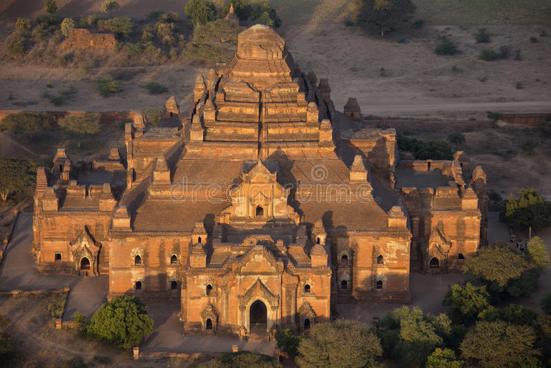 Templo de Dhammayangyi - Bagan - Myanmar imagen de archivo libre de regalías