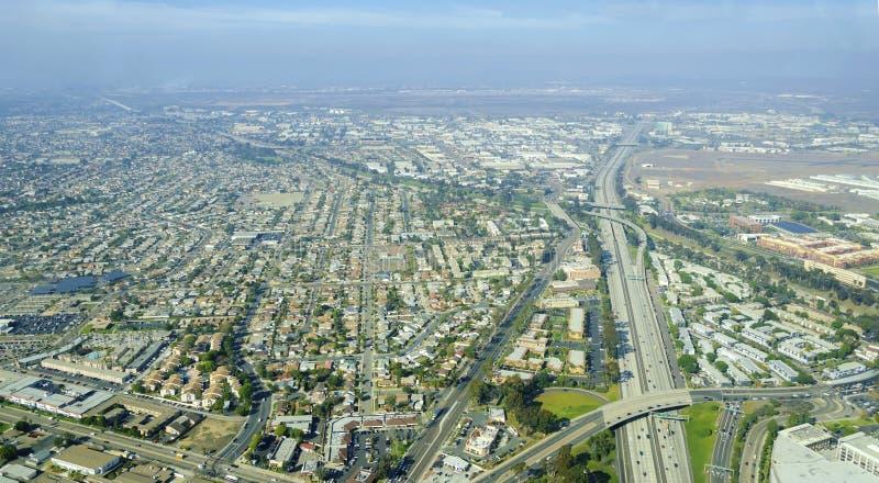 Vista aérea do distrito intermediário, San Diego fotos de stock royalty free
