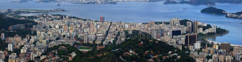 Vista aérea do Rio imagem de stock