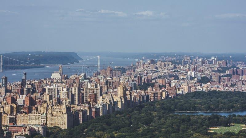 Vista aérea no lado oeste superior, New York imagem de stock royalty free