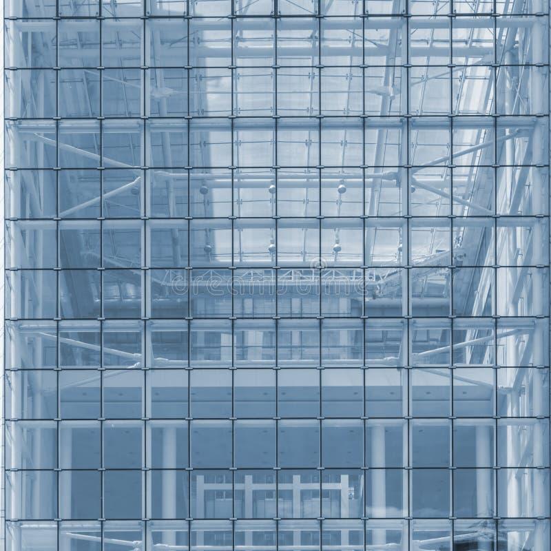 Vista abstracta de edificios imagen de archivo