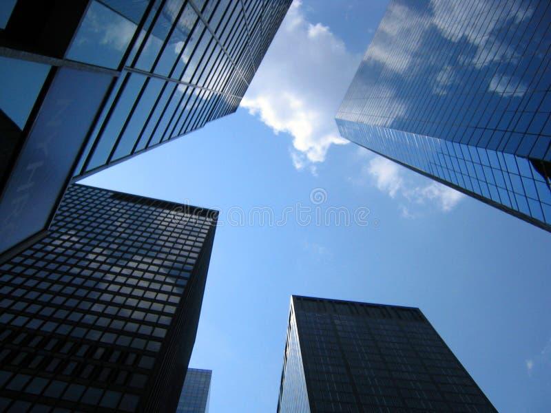 Download Vista acima foto de stock. Imagem de céu, manhattan, york - 103226