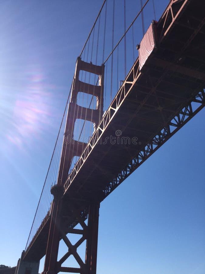 Vista acima em San Francisco imagem de stock royalty free