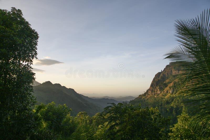 Vista ad Ella Sri Lanka fotografia stock libera da diritti