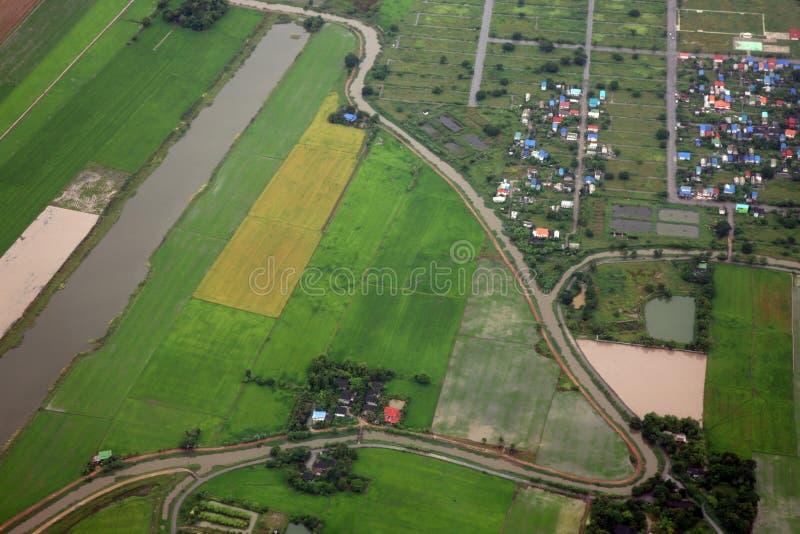 Vista aerea fotografia stock libera da diritti