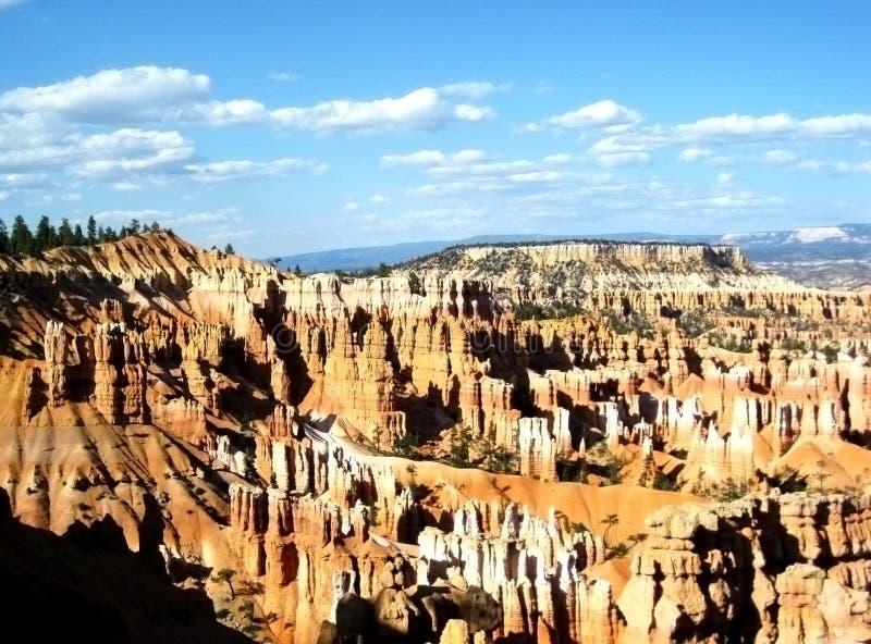 Vista aerea del grande canyon fotografia stock