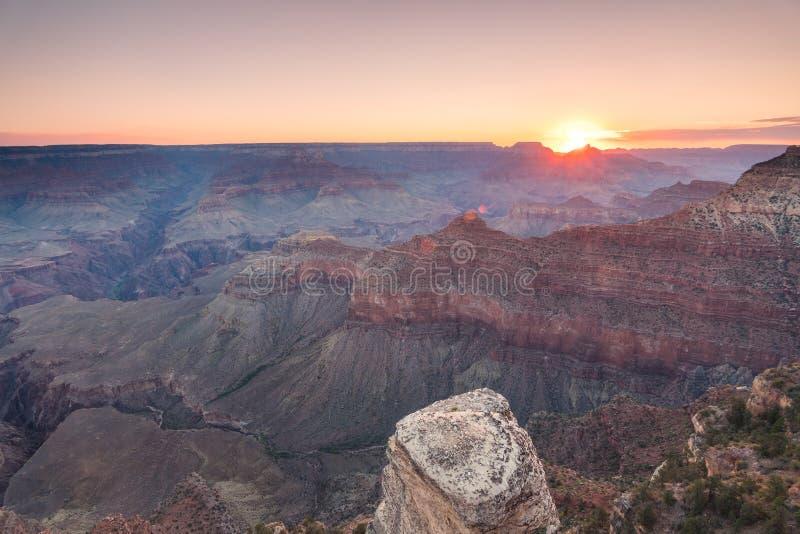 Vista aerea del parco nazionale del Grand Canyon, Arizona fotografia stock libera da diritti