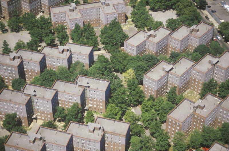 Vista aerea dell'appartamento delle regine immagine stock