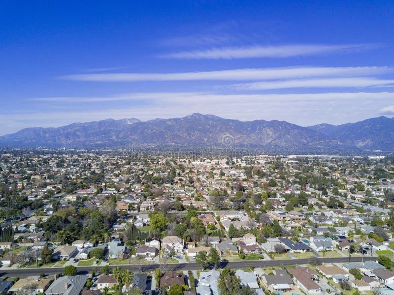 Vista aerea dell'arcadia immagini stock libere da diritti