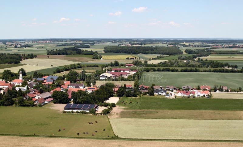 Vista aerea della Baviera fotografia stock libera da diritti