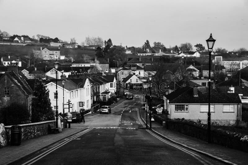 Vista aerea della cittadina Cashel nella contea di Tipperary dell'Irlanda Rebecca 36 fotografie stock
