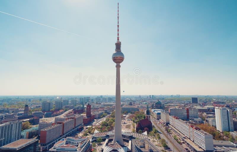 Vista aerea di Berlino immagine stock libera da diritti