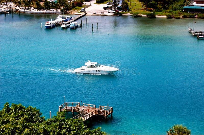 Vista aerea di Giove Florida fotografia stock