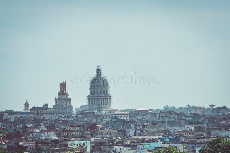 Vista aerea di Havana Cuba fotografia stock libera da diritti
