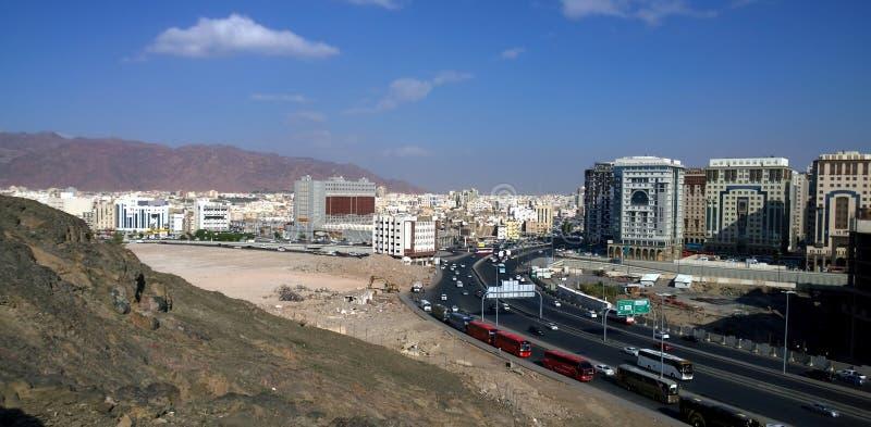 Vista aerea di Medina immagini stock libere da diritti