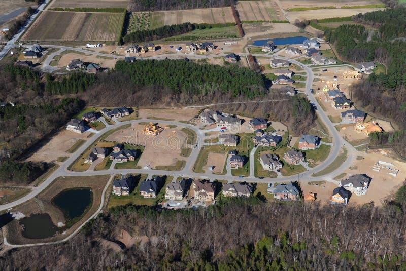 Vista aerea di Ontario del sud immagini stock libere da diritti
