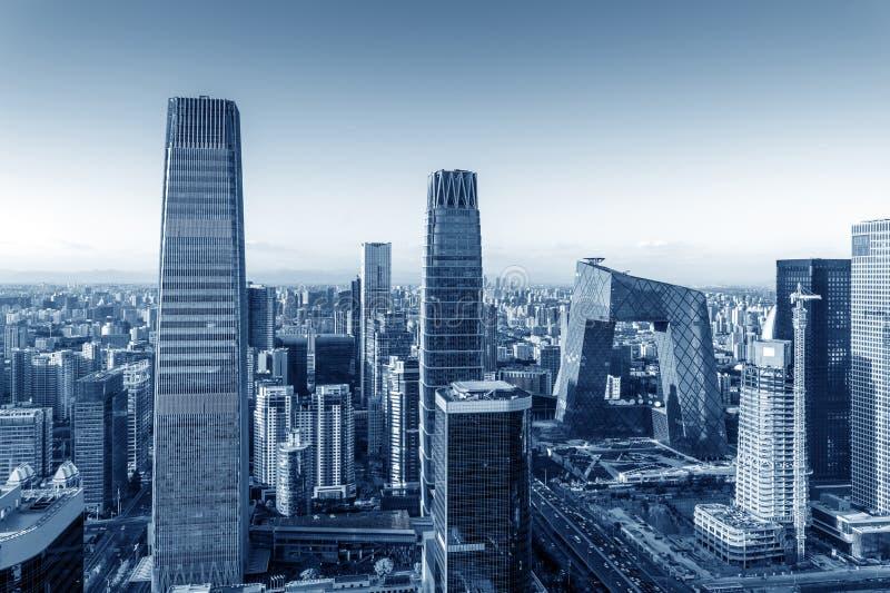 Vista aerea di Pechino fotografia stock libera da diritti