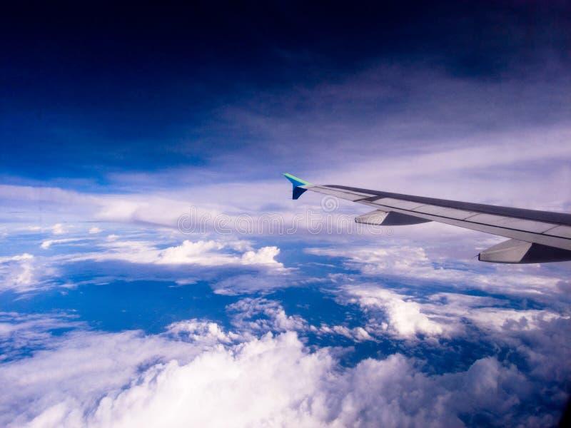 Vista aerea di terra fotografia stock