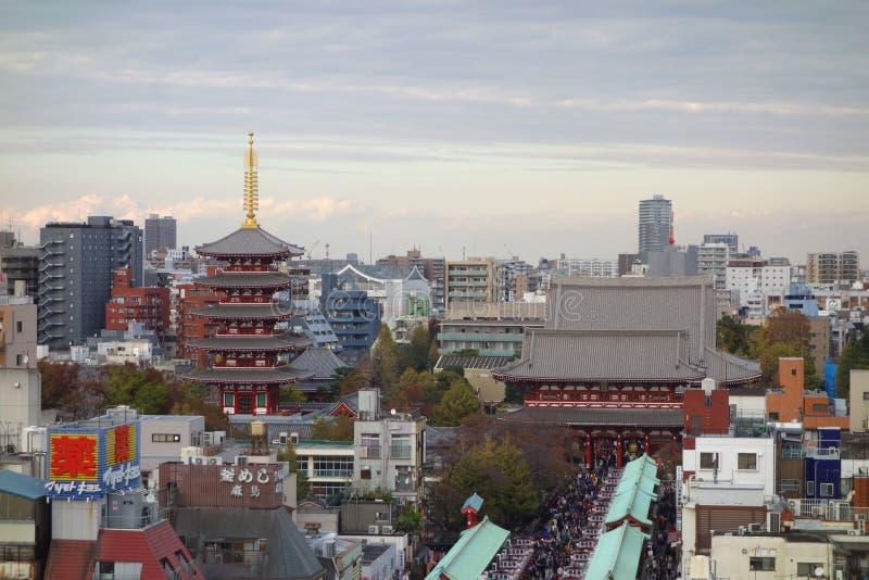 Vista aerea di Tokyo immagine stock libera da diritti