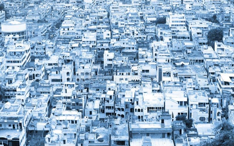 Vista aerea di Vijayawada fotografia stock libera da diritti