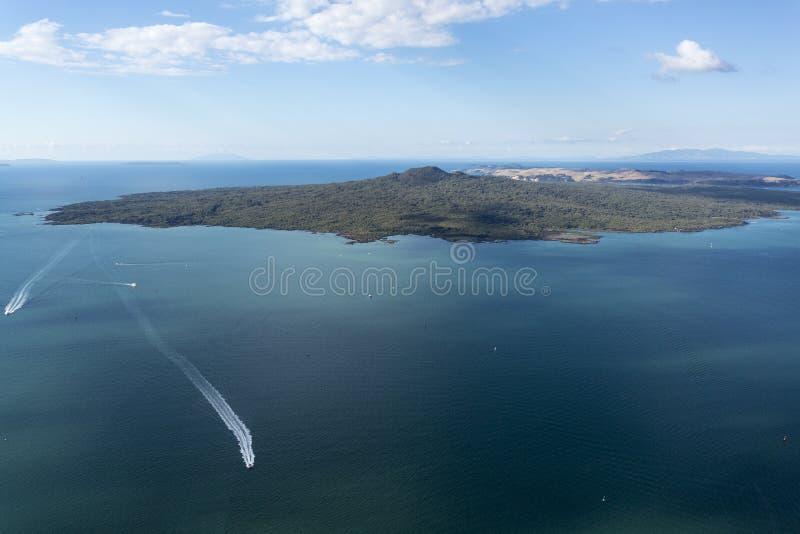 Isola di Rangitoto immagine stock