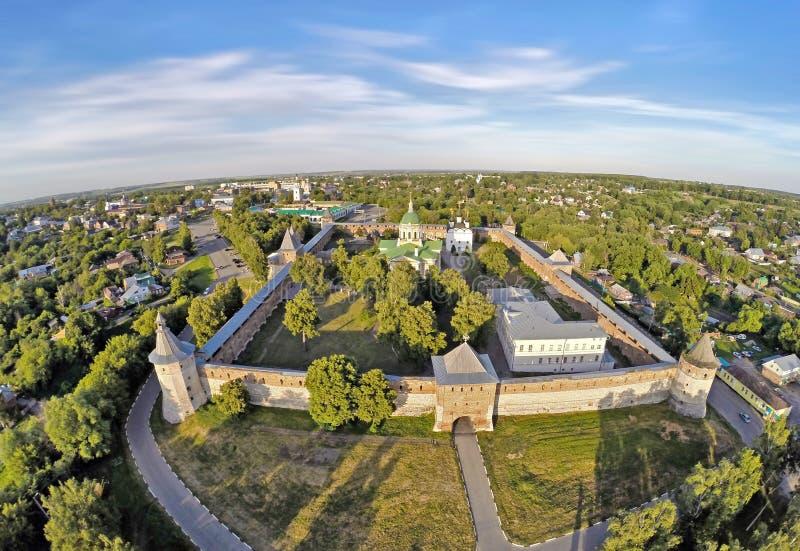 Download Vista Aerea Su Zarajsk Kremlin Fotografia Stock - Immagine di esterno, paesaggio: 55365008