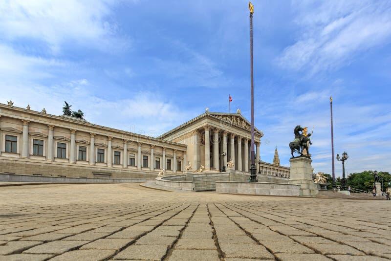 Vista al castillo de Unteres del belvedere fotos de archivo libres de regalías
