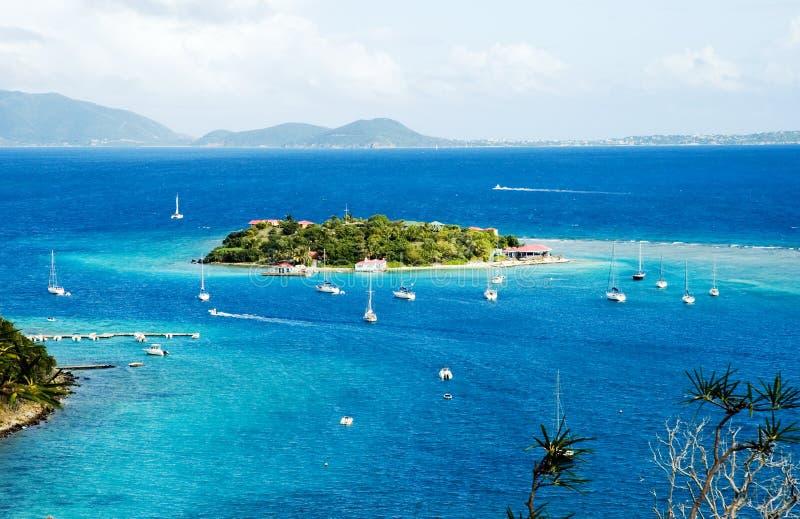 Vista al Cay del porticciolo fotografia stock libera da diritti