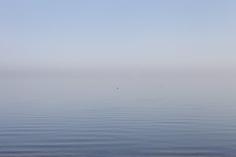 Vista al mare alla baia Risonanza di Herne fotografie stock libere da diritti