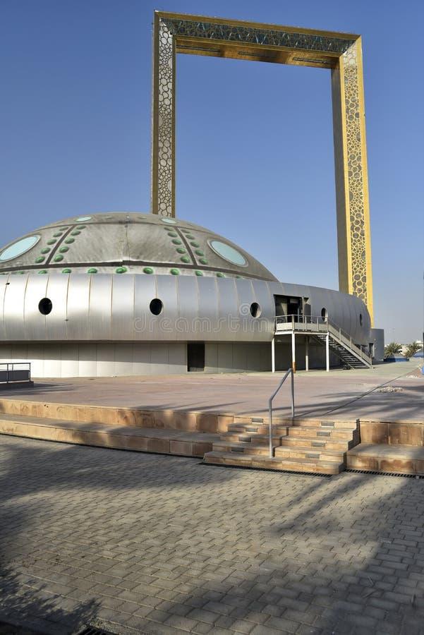 Vista al parque Zabeel, Dubai, Emiratos Árabes Unidos foto de archivo