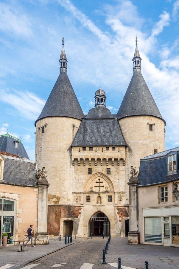 Vista al portone di Craffe Nancy - in Francia immagine stock libera da diritti