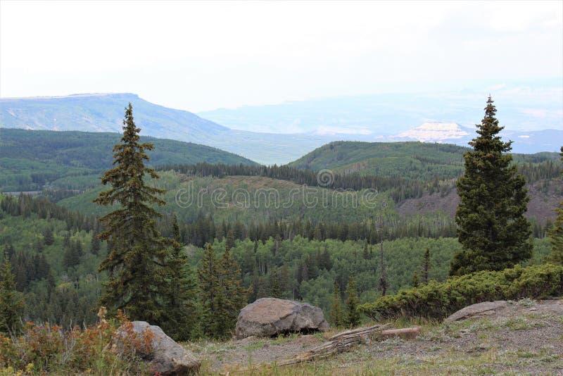 The Vista Atop Grand Mesa royalty free stock image
