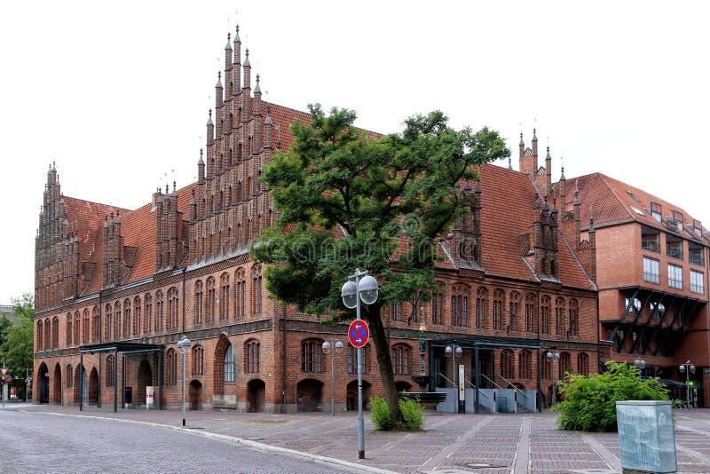 Vista ayuntamiento viejo imagen de archivo libre de regalías