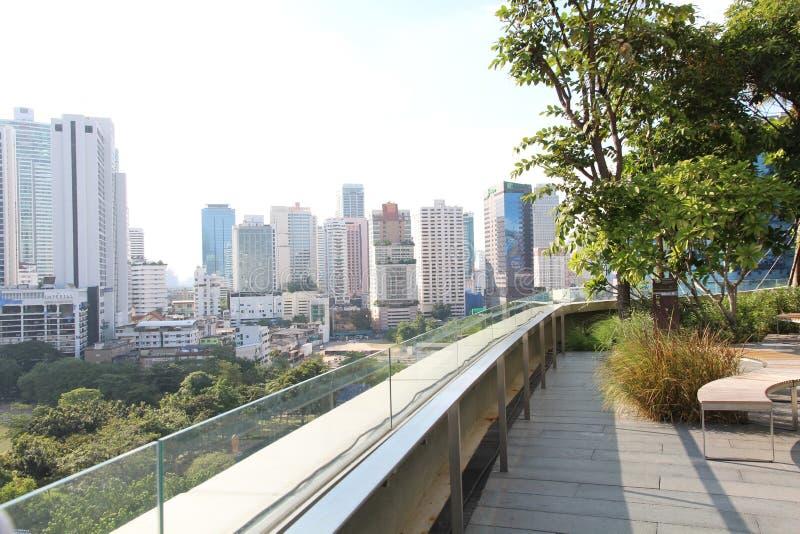 Vista Bangkok della foto fotografia stock libera da diritti