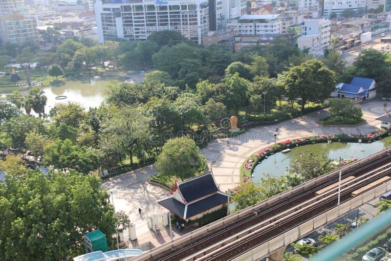 Vista Bangkok della foto fotografie stock