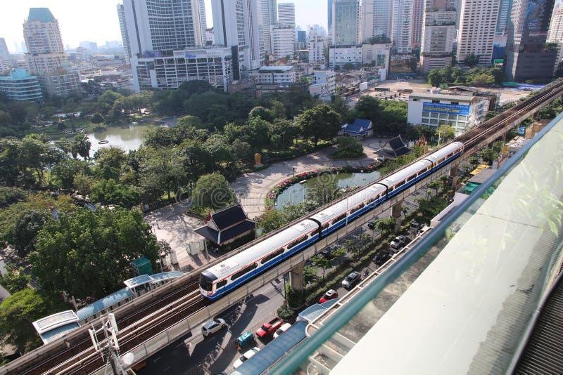 Vista Bangkok della foto immagini stock