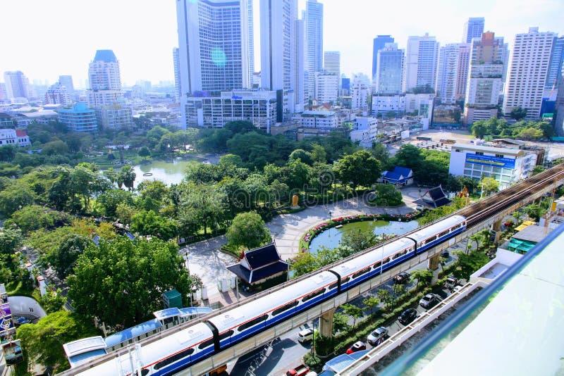 Vista Bangkok della foto fotografie stock libere da diritti