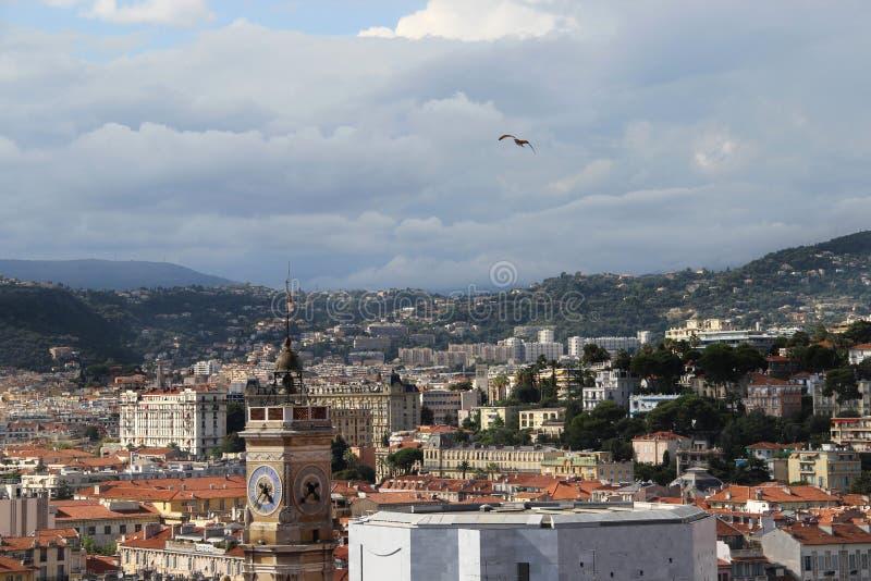 Vista bonita de agradável, França, Provence imagem de stock royalty free
