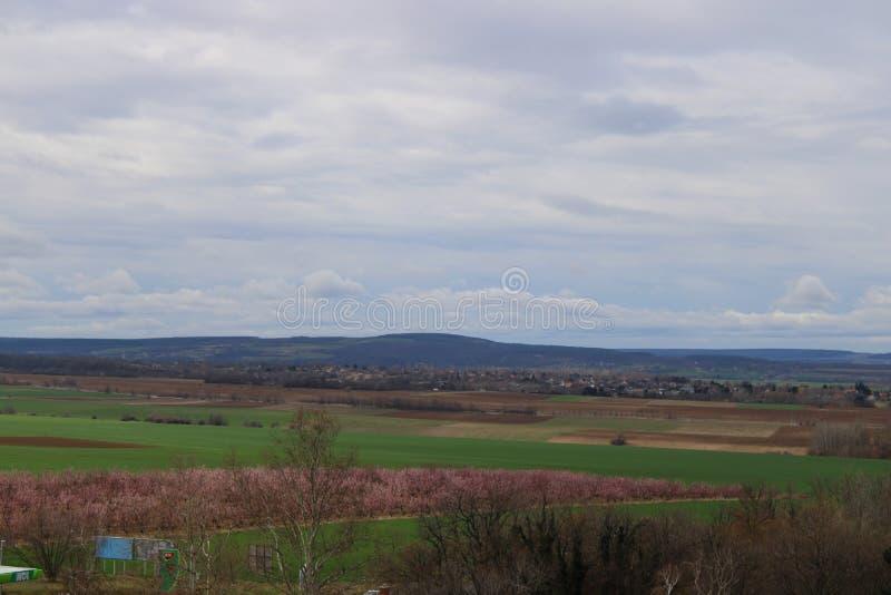 Vista bonita de uma torre do olhar-para fora imagem de stock royalty free