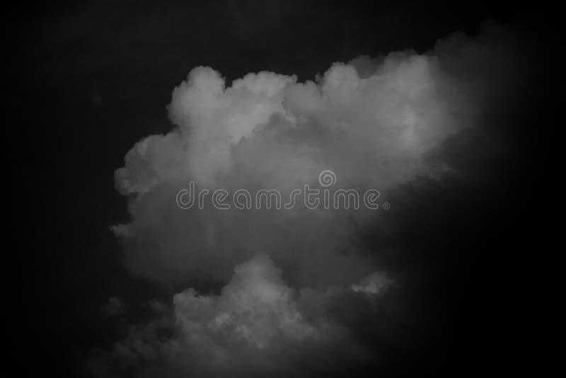 Vista bonita do céu com nuvens fotos de stock