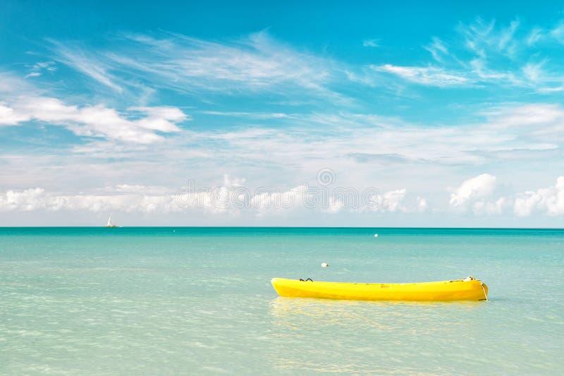 Download Vista Brilhante Atrativa Da Praia Marinha Bonita Colorida Exótica Com O Barco Na água Azul Imagem de Stock - Imagem de sonho, ambiente: 80101455