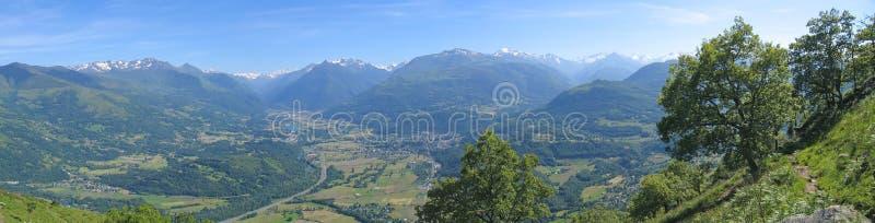 Vista cénico do Lourdes fotos de stock