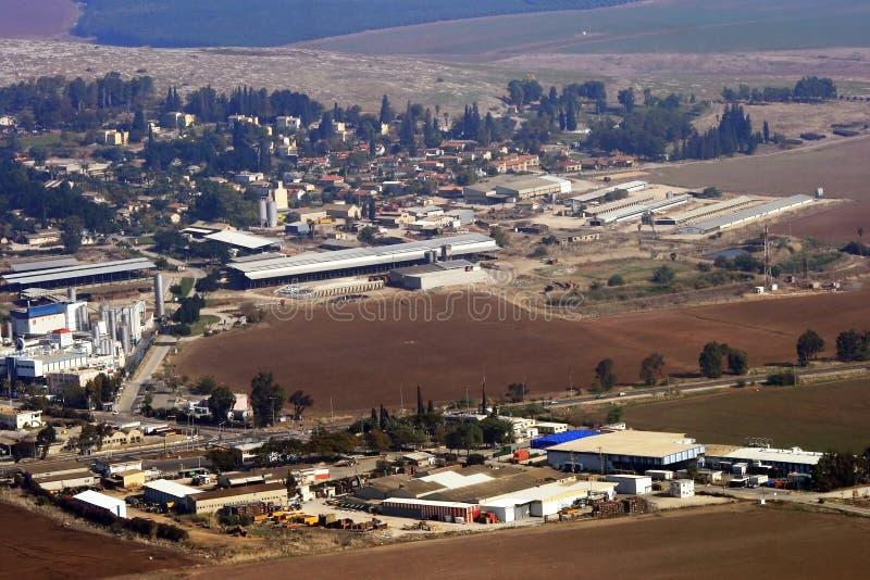 Vista cénico no vale de Israel imagem de stock royalty free