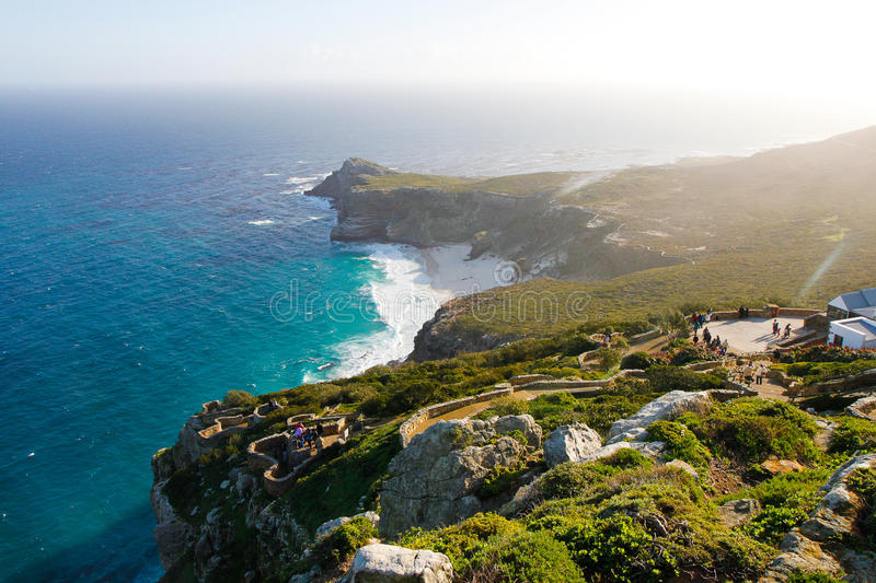 Vista from Cape Point royalty free stock photo
