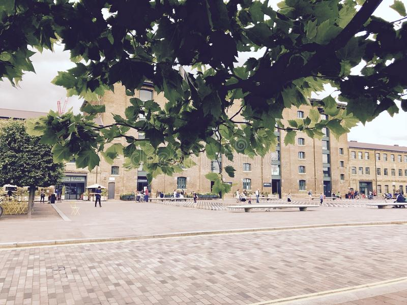Vista centrale trasversale di King's del fotografia stock libera da diritti